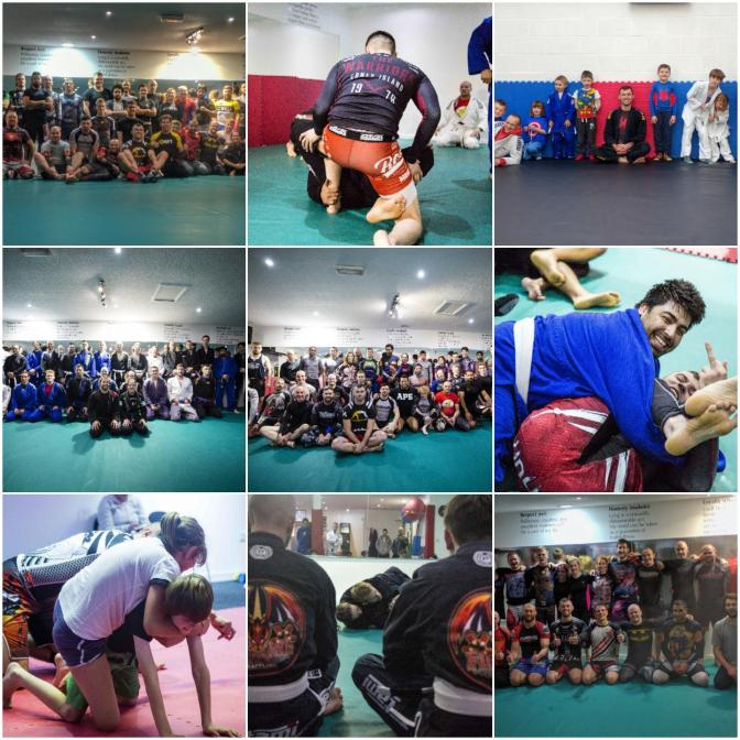 Happy New Year from the Grappling Team!